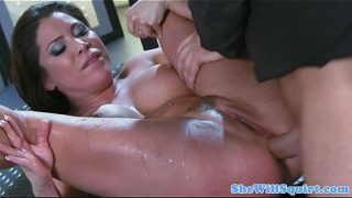 Hardcore Ass Fucking Gets her pussy Gushing