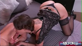 Caroline Ardolino Squirting in Sexy Stockings