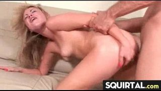 Hard Fucking Made her Squirt Crazy