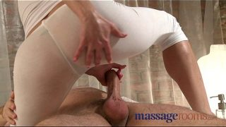 Blonde Masseuse Squirts Riding Client
