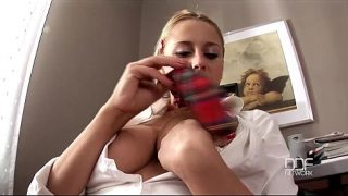 Nymphomaniac Schoolgirl Hard Fuck with Squirting Orgasm