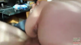 Amateur Squirting Girlfriend Riding Curved Dick