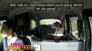Lesbian Sex With Taxi Driver