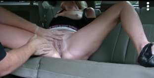 Squirting On The Backseat Of Uber