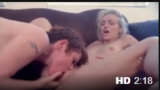 Crazy Lesbian Sex Ends With Strong Squirting