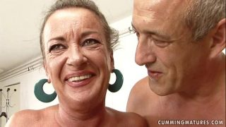 Horny Granny Loves Being Abused